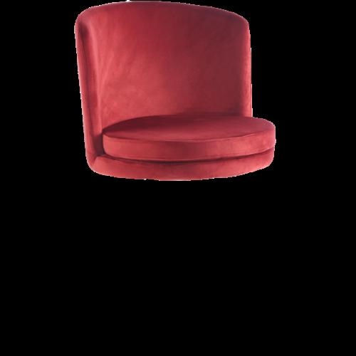 Amore Stolsöverdel Röd 2-pack