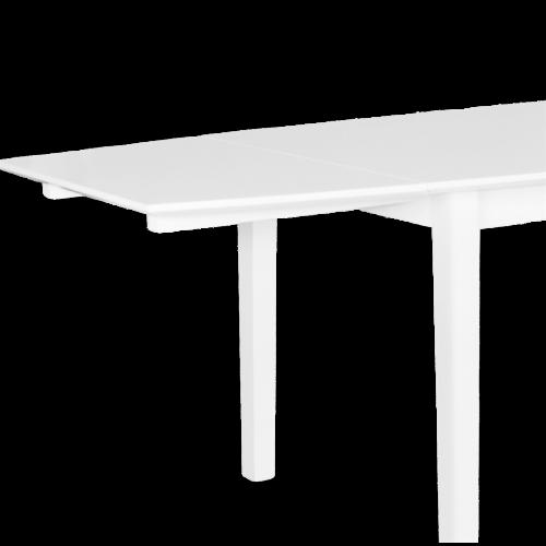 ArlingPLUS granit/vit matbord 90x140 inkl. 2st...