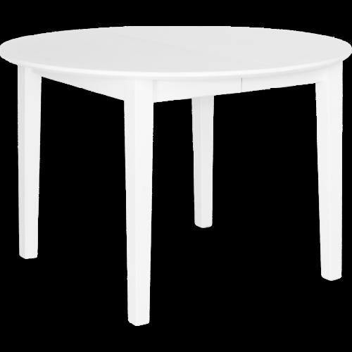 Eka Matbord Ø115 Vitlack