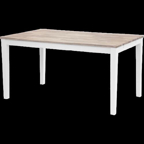 Marble grå marmor/krom lampbord 50x50
