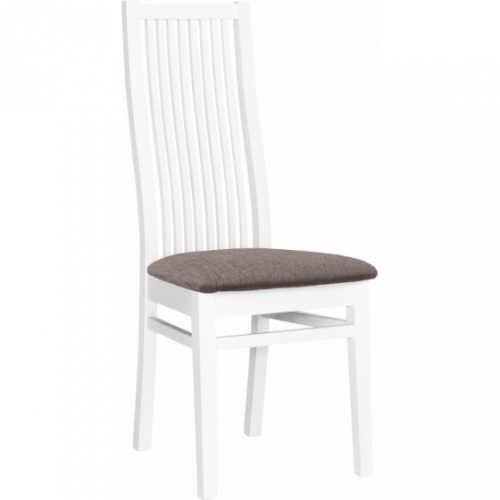 Carin ek/vit sängbord 2-L