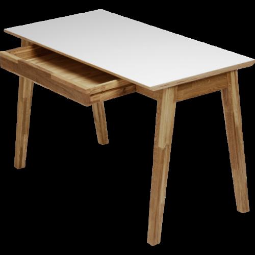 ArlingPLUS granit/vit matbord 90x140 inkl. 4st...