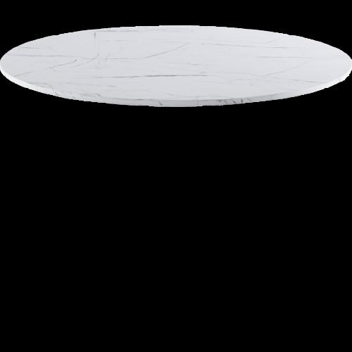 Passion Bordsskiva Ø110 Vit marmor