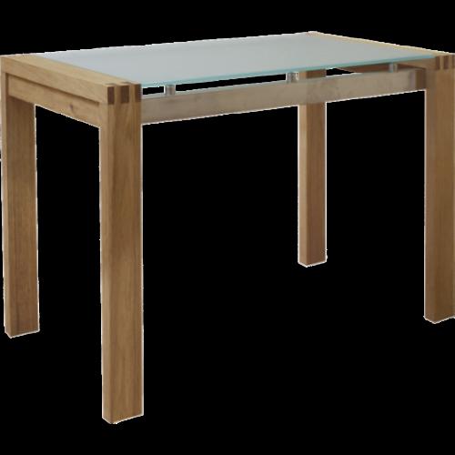 Euston Avlastningsbord Glas/ekfanér