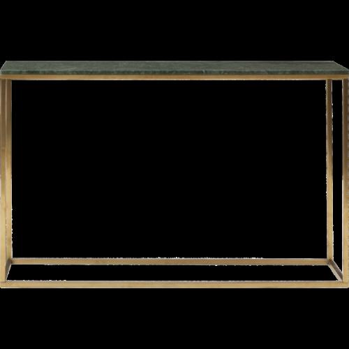 Marble Konsolbord 120 Grön/mässing