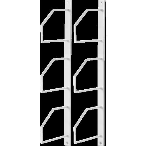 Square Väggkonsol 20 Vitlack 2-pack