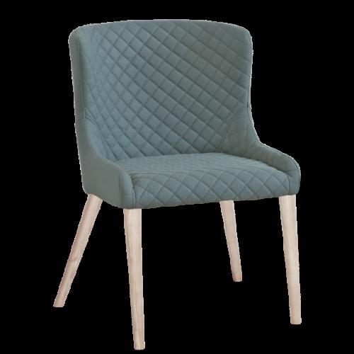 Hamilton stol Sea/Vitbetsad 2-pack
